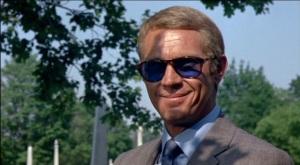 Steve McQueen in Persol Sunglasses