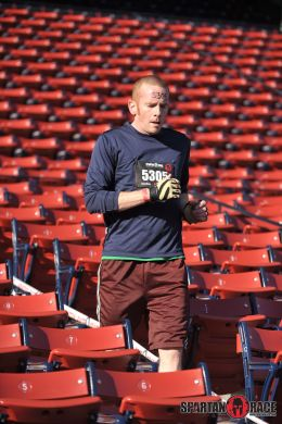 Running the Fenway Spartan Race