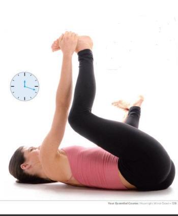 Essential Yoga Baby Pose 2