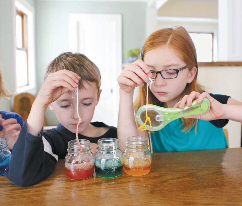 Kitchen Lab Kids try this science experiment with your kids this vacation week
