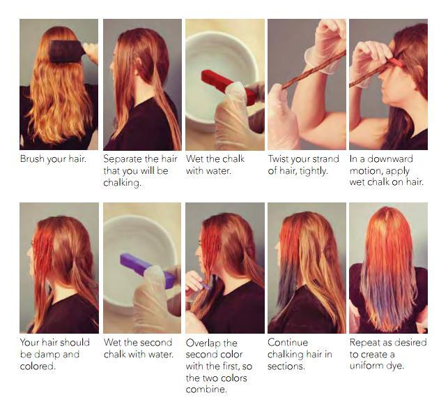Hairchalkhowto