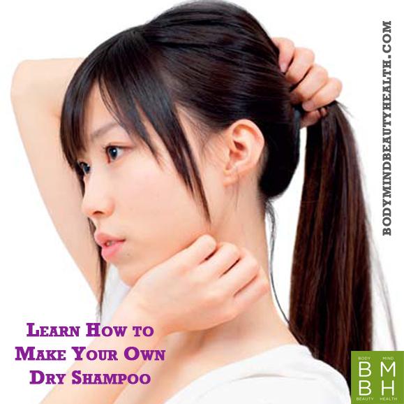 how to make dry shampoo